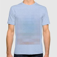Heaven Mens Fitted Tee Athletic Blue SMALL