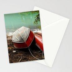 Emerald lake Boat Stationery Cards