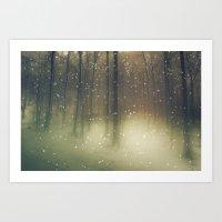 Snow Wonderland  Art Print