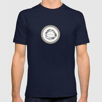 thorns Mens Fitted Tee Navy SMALL