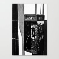 Tapped Canvas Print