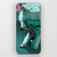 Ballad of the Wolf iPhone & iPod Skin