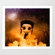 Chibigirl Wednesdays Hau… Art Print
