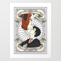 Harry Potter Tarot Art Print