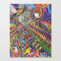 Janus Canvas Print