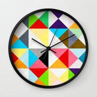 Geometric Morning Wall Clock
