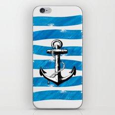 Anchor away iPhone & iPod Skin