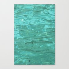 The Water Canvas Print