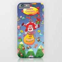 Santa Has A Zeppelin To … iPhone 6 Slim Case
