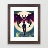 Demon Hunter Framed Art Print