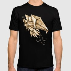 Phoenixgami SMALL Black Mens Fitted Tee