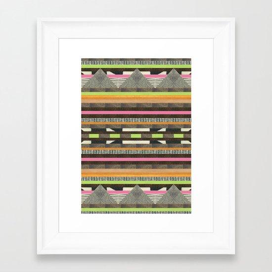 DG Aztec No. 2 Framed Art Print