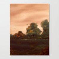 The Autumn Leaves Canvas Print