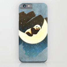 Sleeping Panda on the Moon iPhone 6s Slim Case