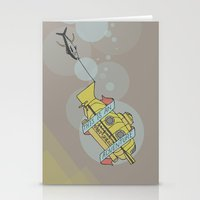 This Is An Adventure | The Life Aquatic with Steve Zissou Stationery Cards