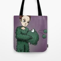 Man in the Monster RonkyTonk Tote Bag