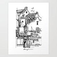 Penang, Malaysia (I) Art Print
