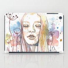 Meditation, watercolor  iPad Case