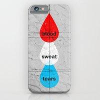 iPhone & iPod Case featuring Blood, Sweat & Tears by Tyler Bramer