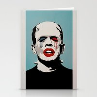 =Boris Karloff=FASHIONVICTIM= Stationery Cards