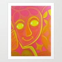 Lantana Art Print