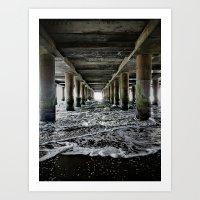 Die Flut Kommt Art Print
