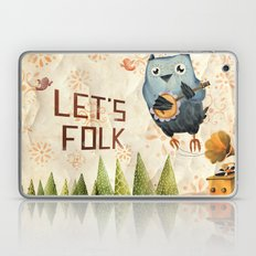 Let's Folk! Laptop & iPad Skin