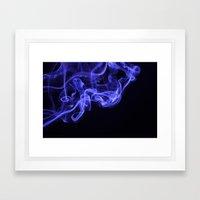 i don't smoke Framed Art Print
