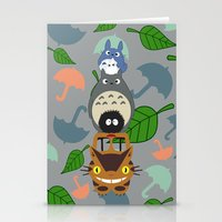 Troll Totem Stationery Cards