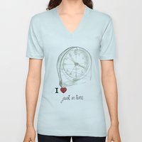 Just in time Unisex V-Neck
