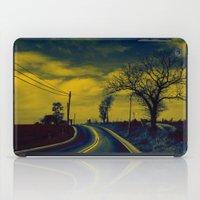Rural road iPad Case