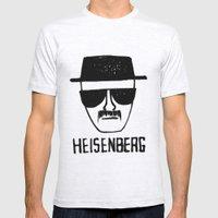 Heisenberg - Breaking Bad Sketch Mens Fitted Tee Ash Grey SMALL