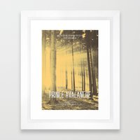 Prince Avalanche - Movie Poster Framed Art Print
