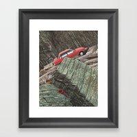 Gator Country Framed Art Print