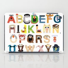 Muppet Alphabet iPad Case