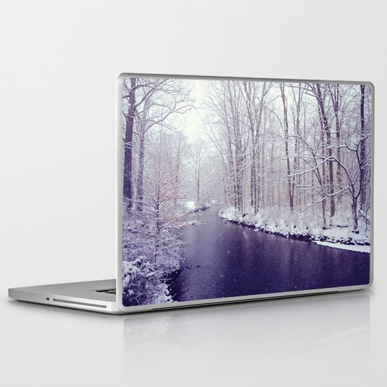 winter blues Laptop & iPad Skin