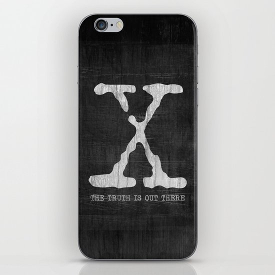 X-Files Poster iPhone & iPod Skin