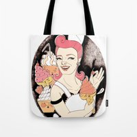 The Ice Cream's Nightmar… Tote Bag
