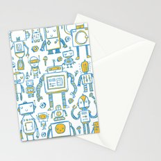 Robots Stationery Cards