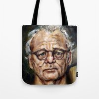 Bill Murray / Walt Bishop - Moonrise Kingdom Tote Bag
