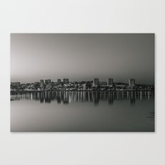 Porto in Black and White Canvas Print