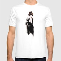 Breakfast At Tiffany's A… Mens Fitted Tee White SMALL