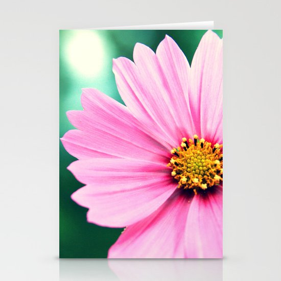 Pretty in Pink Stationery Card