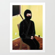 The Weary Eyed Assassin Art Print