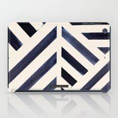 Watercolor Stripe Midnight iPad Case