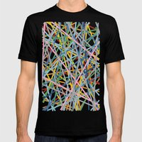 Kerplunk Extended Mens Fitted Tee Black SMALL