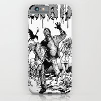brain iPhone & iPod Cases featuring Brain by Christian G. Marra