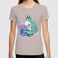 Unicorn Womens Fitted Tee Cinder SMALL