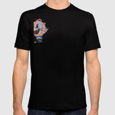 BooBusters Mens Fitted Tee Black SMALL