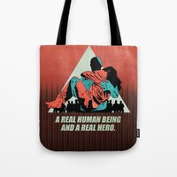 A Real Hero Tote Bag